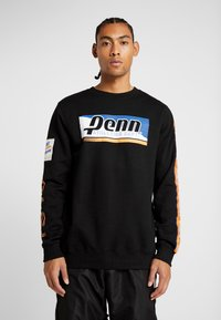 Penn - MEN GRAPHICA CREW  - Sweatshirt - black - 0