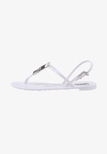 JELLY IKONIC SLING - Pool shoes - white