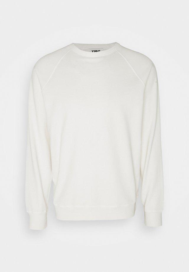 SCHRANK RAGLAN - Sweatshirt - ecru