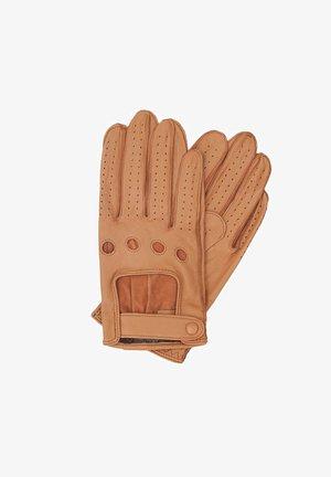 Gloves - hellbraun