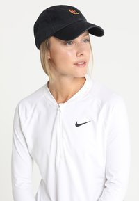 Nike Performance - COURT LOGO - Keps - black - 5