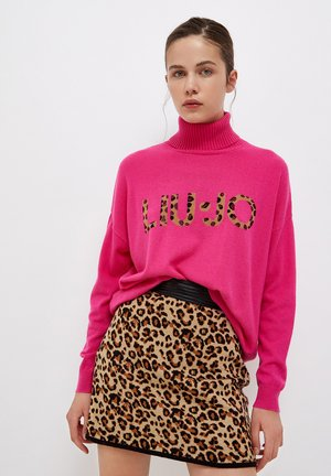 WITH ANIMAL - Jumper - pink