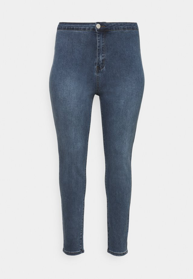 LADIES - Jeans Skinny - mid stonewash