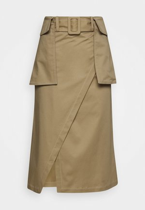 RAESA CTHICK - Áčková sukně - beige