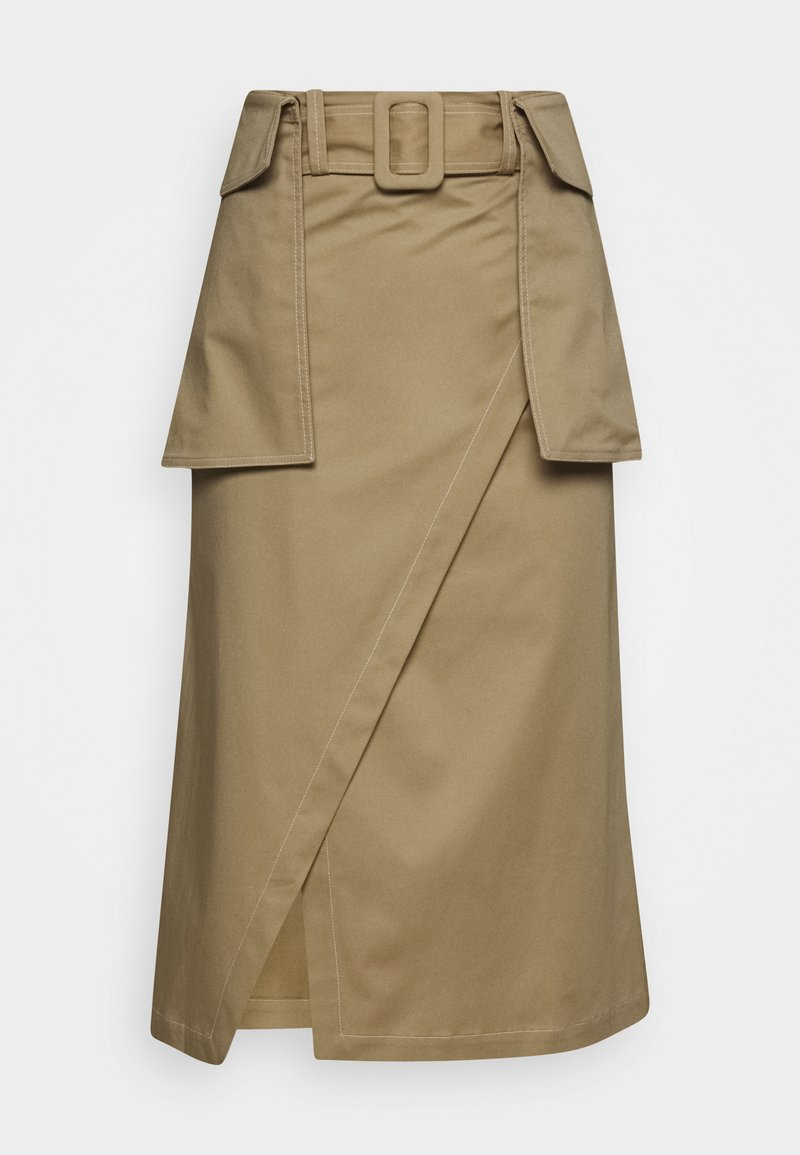Mykke Hofmann - RAESA CTHICK - A-line skirt - beige