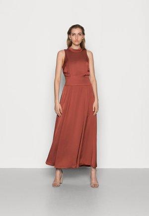 DELIA - Maxi dress - mahogany