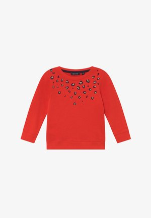 KIDS ANIMAL PRINT - Sweatshirt - tomate