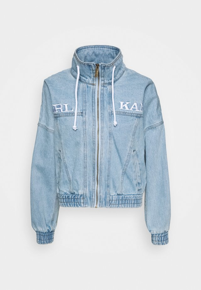 RETRO SUPERLIGHT JACKET - Denim jacket - blue