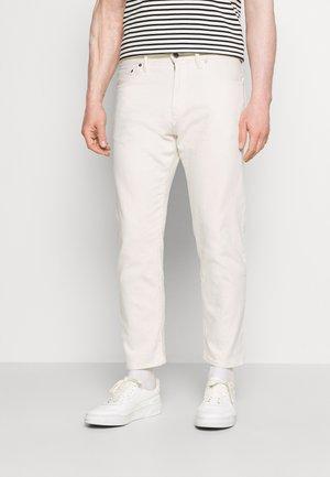 CROP FIT - Jeans straight leg - ecru