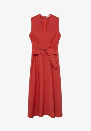 NALA - Maxi šaty - rojo coral