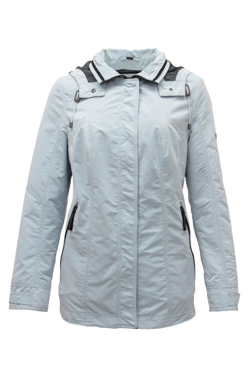 Barbara Lebek - MIT KAPUZE - Outdoor jacket - aqua