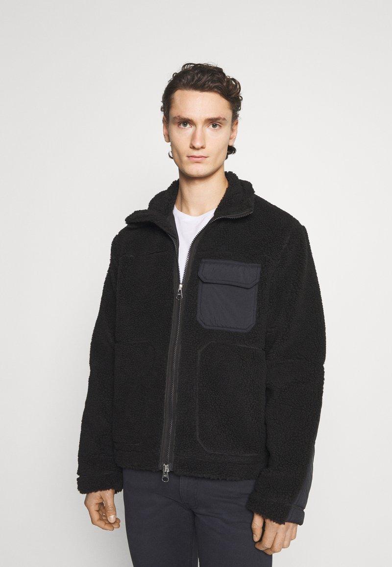 ARKET - JACKET - Light jacket - black dark