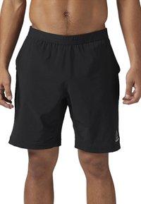 Reebok - SPEEDWICK SPEED SHORTS - Sports shorts - black - 0