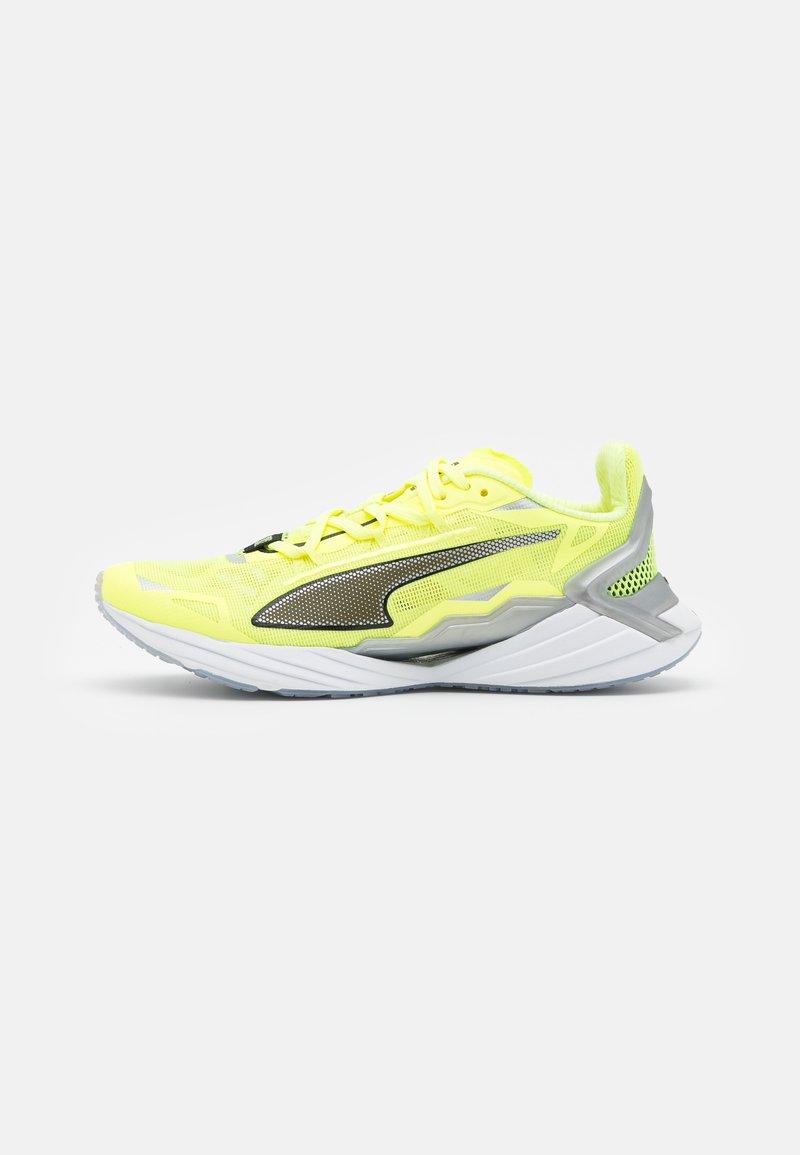 Puma - ULTRARIDE FM XTREME - Neutral running shoes - fizzy yellow/black/metallic silver