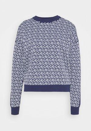 Sweter - navy/breezy blue