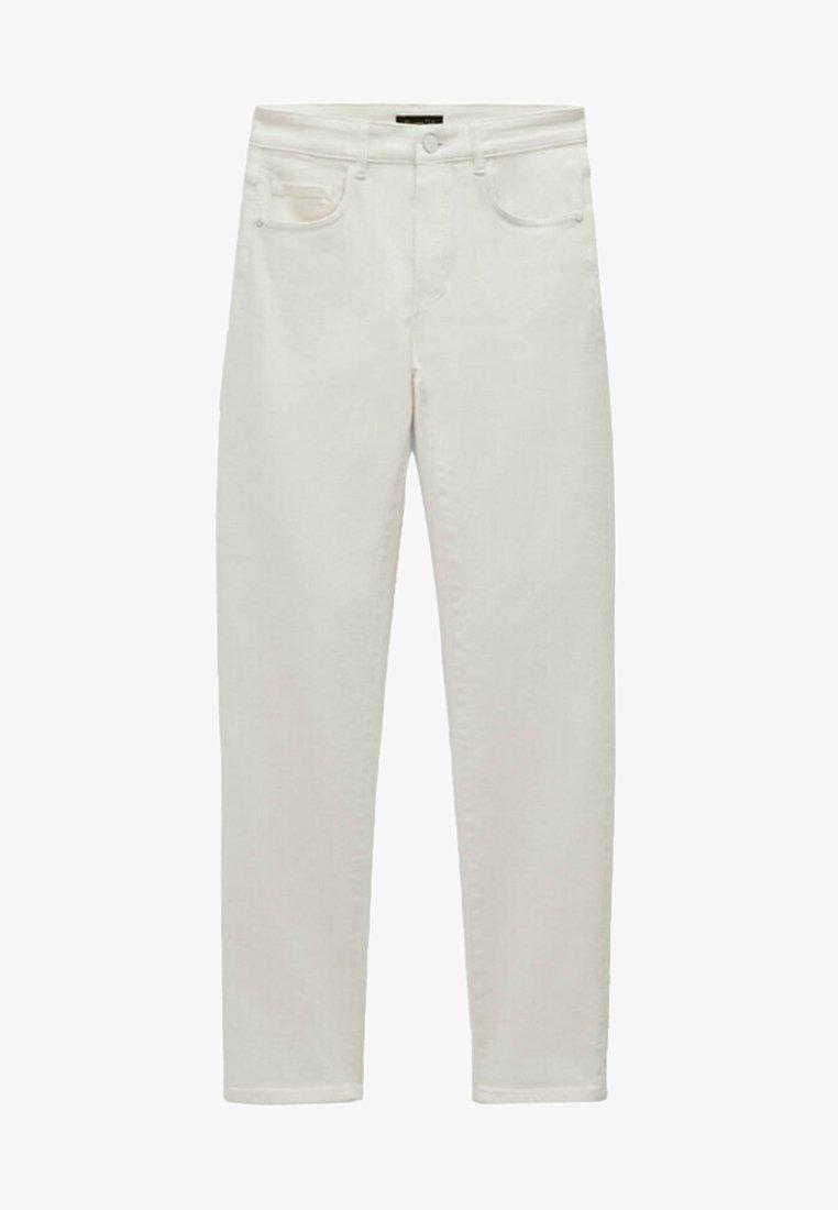 Massimo Dutti - Straight leg jeans - white