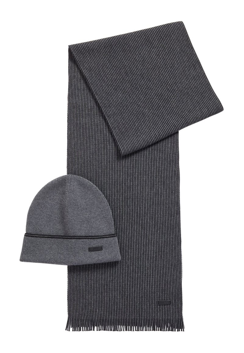 BOSS - GABRIEL SET - Sjaal - grey