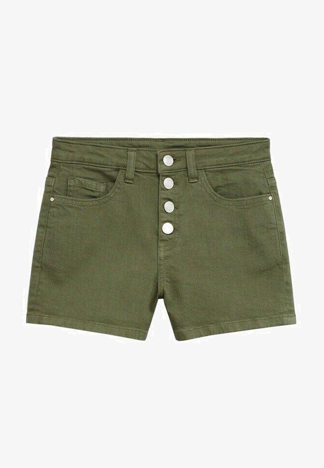 Short en jean - kaki