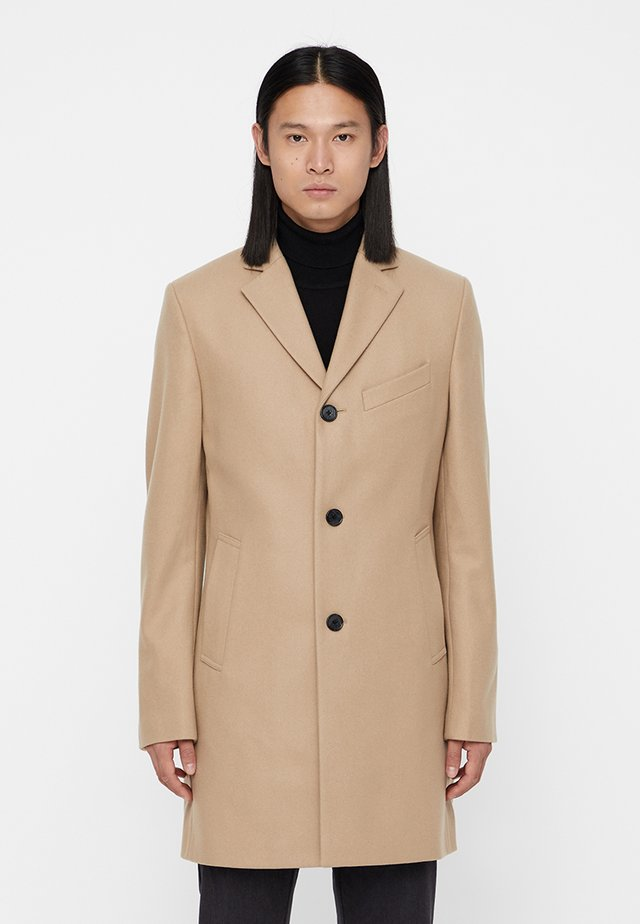 WOLGER COMPACT MELTON - Cappotto classico - sand