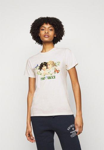 WOODLAND VINTAGE ANGELS TEE  - Print T-shirt - white