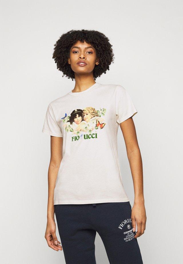 WOODLAND VINTAGE ANGELS TEE  - T-shirt print - white