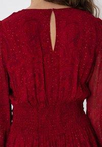 Indiska - VARJA - Maxi šaty - red - 3