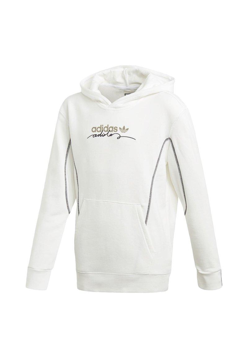 adidas Originals - R.Y.V. HOODIE - Hoodie - white