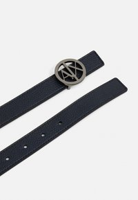Armani Exchange - BELT - Pásek - blue navy - 1
