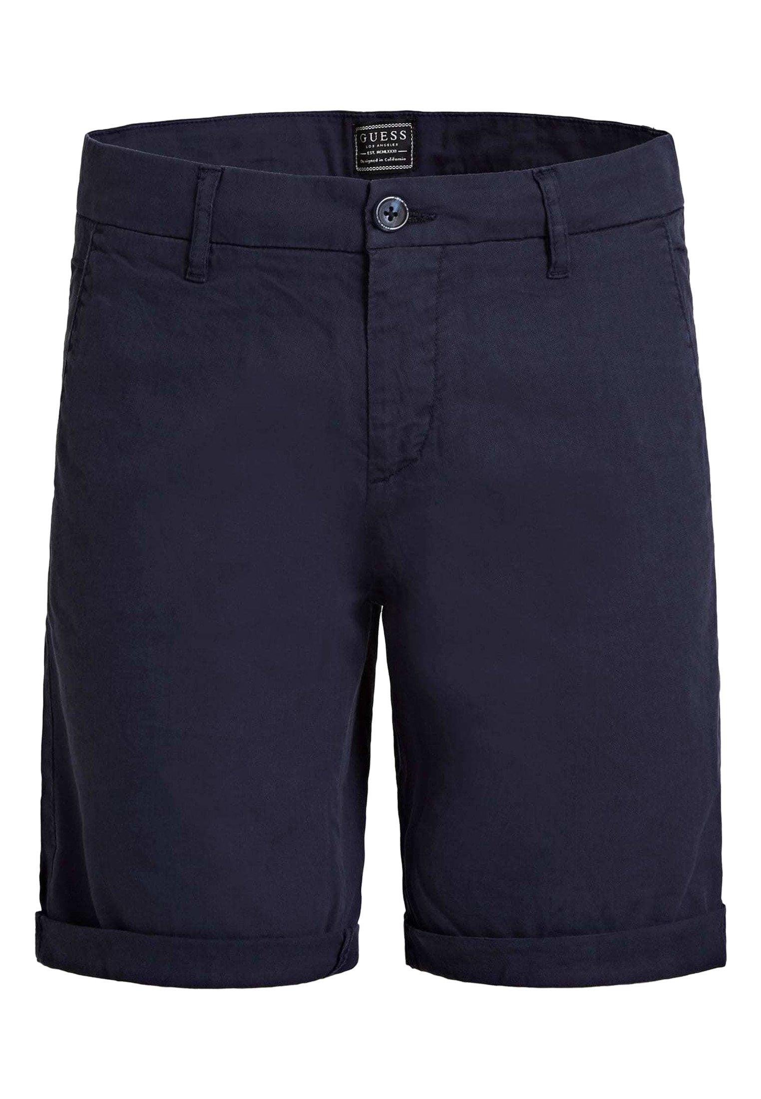 Guess SHORTS SKINNY - Pantalon classique - blau