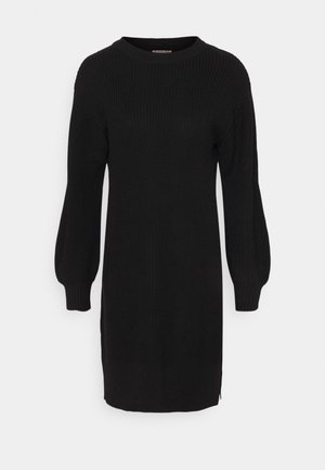 Balloon Sleeve - Jumper dress - black