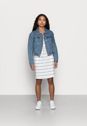 VMAPRIL SHORT DRESS 2 PACK - Jerseykjole - black/snow white/dazzling blue