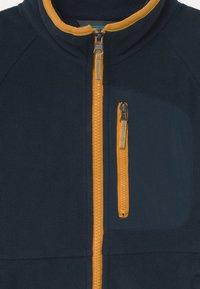 Columbia - FAST TREK FULL ZIP UNISEX - Fleece jacket - collegiate navy/bright gold - 2