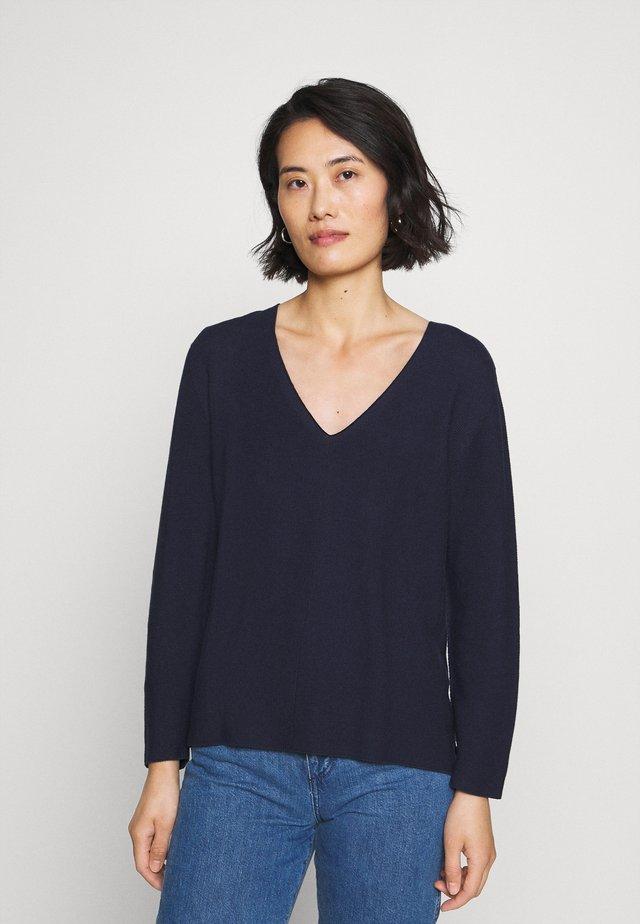 Sweter - deep blue