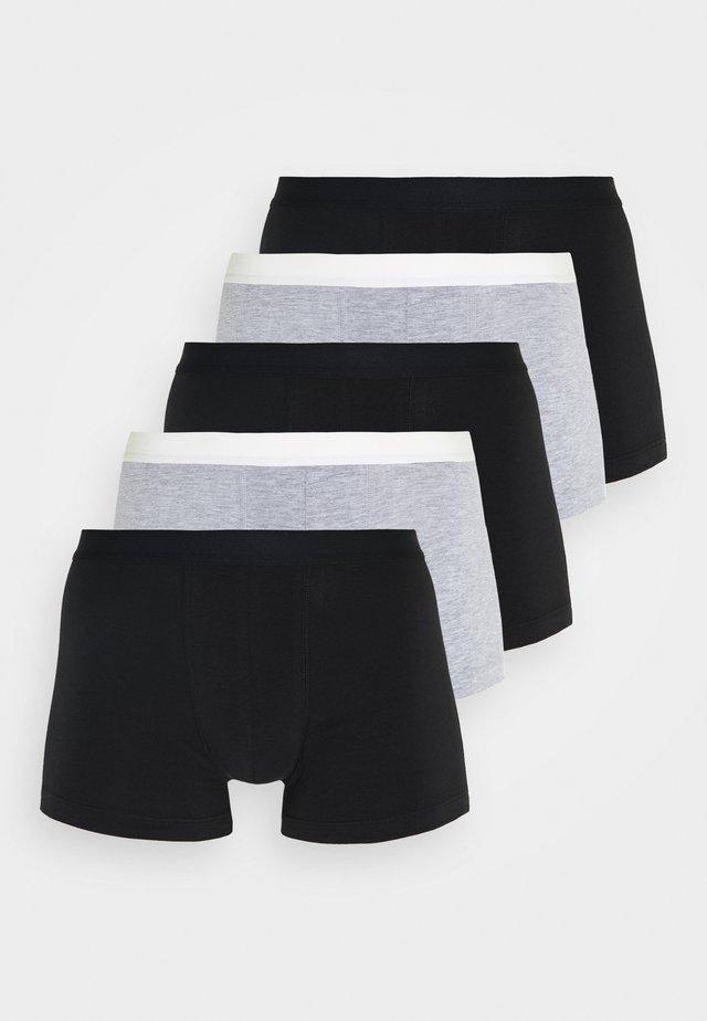 5 PACK - Culotte - black/mottled grey