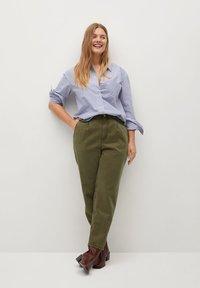 Violeta by Mango - RITA - Trousers - khaki - 1