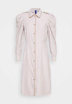 ALISHA DRESS - Shirt dress - wood