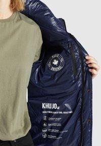 khujo - CAMILLE - Giacca invernale - dunkelblau glänzend - 6