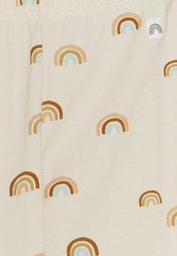 Lindex - RAINBOW - Leggings - Trousers - light beige - 2