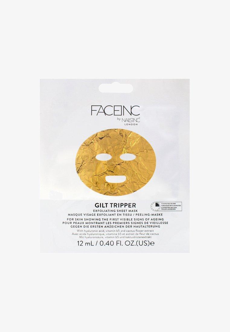 INC.redible - FACE INC GILT TRIPPER EXFOLIATING SHEET MASK 12ML - Face mask - 9623 neutral