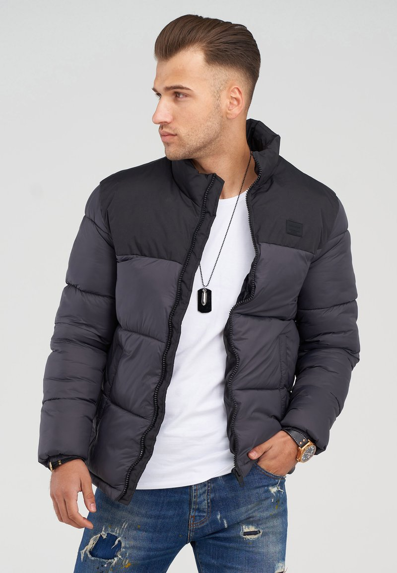 Jack & Jones - MIT - Winter jacket - asphalt