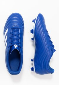 adidas Performance - COPA 20.4 FOOTBALL BOOTS FIRM GROUND - Moulded stud football boots - royal blue/footwear white - 1