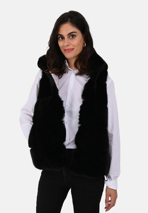 SISTER - Waistcoat - black