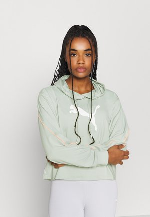 TRAIN PEARL HOODIE - Sweat à capuche - aqua gray