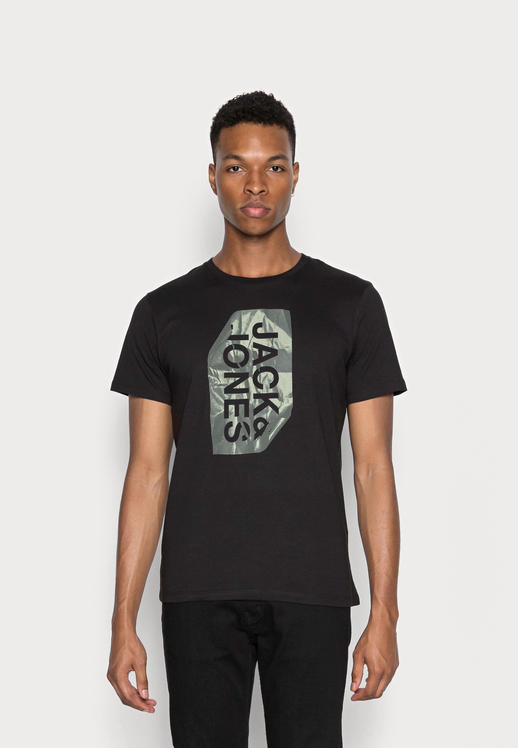 Men JCOPAPER LOGO CREW NECK - Print T-shirt