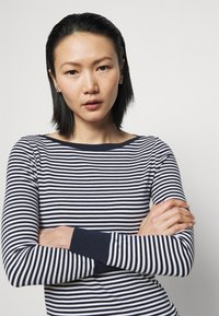 Lauren Ralph Lauren - Long sleeved top - french navy/white - 3