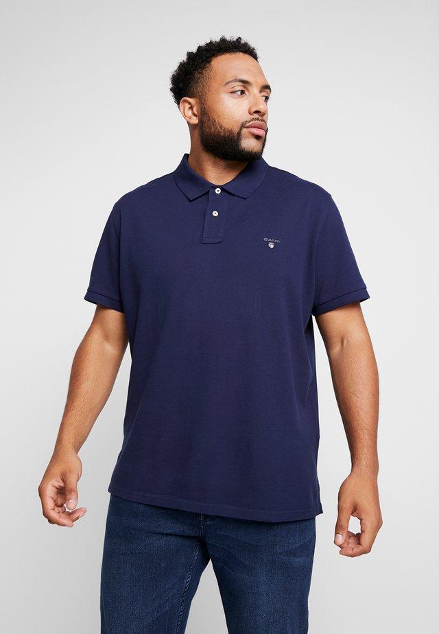 PLUS THE ORIGINAL RUGGER - Poloshirt - evening blue