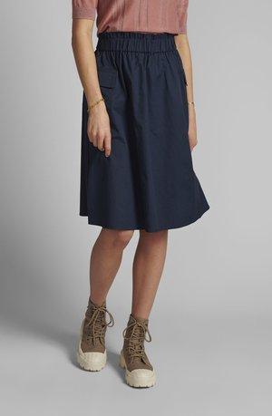 NUELISA - A-line skirt - dark sapphire