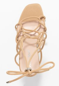 Public Desire - SAVY - High heeled sandals - nude