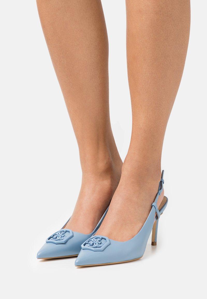 Guess - ALENY - Klassieke pumps - blue