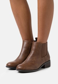 Dorothy Perkins Wide Fit - WIDE FIT MAPLE CHELSEA  - Ankle boots - tan - 0